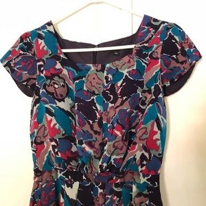 Banana Republic Purple Tulip Sleeve Dress Size 0
